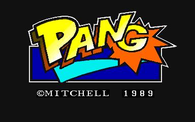 Pang arcade game