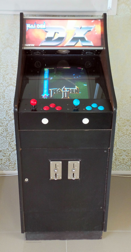 Lowboy Arcade Cabinet   Front View