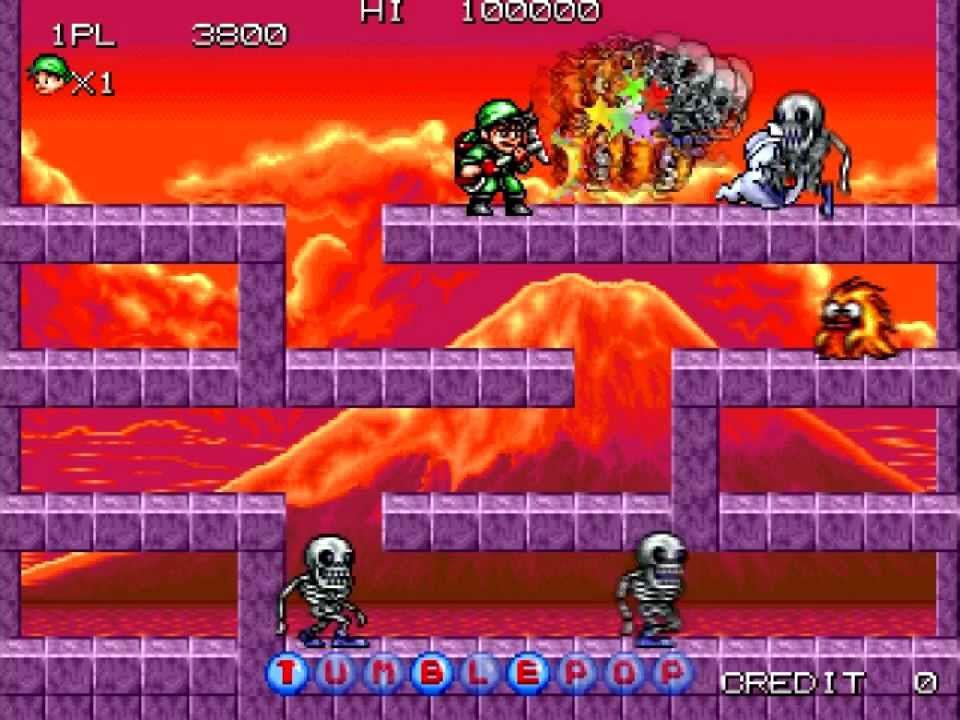 Tumblepop arcade game