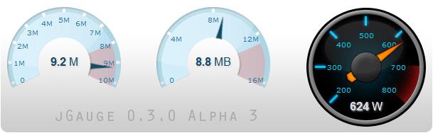 jGauge 0.3.0 alpha 3