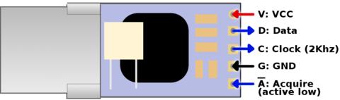 Freetronics IR sensor pinout