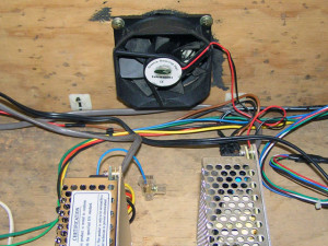 Lowboy arcade cabinet - Ventilation fan