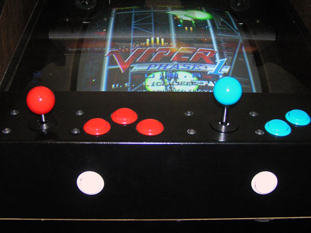 Lowboy arcade cabinet - Joystick height comparison