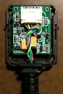 Protek 608 RS-232 cable teardown 1