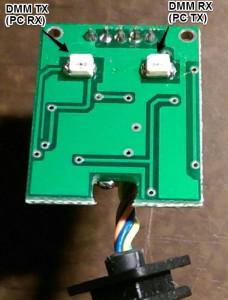 Protek 608 RS-232 cable teardown 2