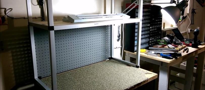 Pleasant Electronics Workbench Part 2 Shelf System Modifications Ibusinesslaw Wood Chair Design Ideas Ibusinesslaworg