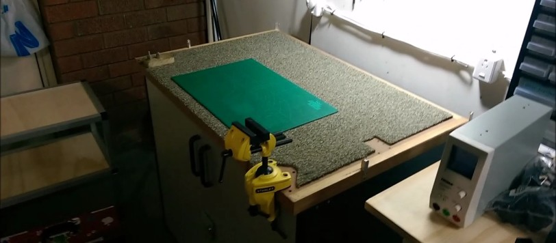 Swell Electronics Workbench Part 1 Cabinet Modifications And Ibusinesslaw Wood Chair Design Ideas Ibusinesslaworg