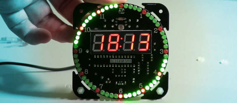 NFM EC1515A Clock Kit Build